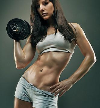 外人女性筋肉